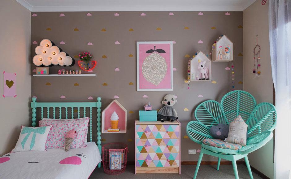 Decorazioni Per Camerette Per Bambini : Consigli per arredare le camerette delle ragazze fumante srl