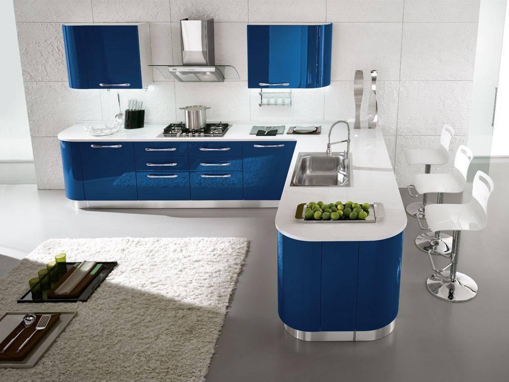 Cucina vintage monoblocco - Cucine moderne con penisola ...